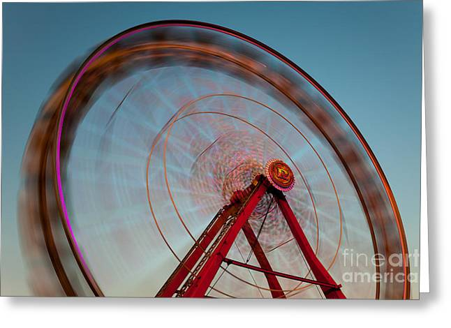 Ferris Wheel Vii Greeting Card