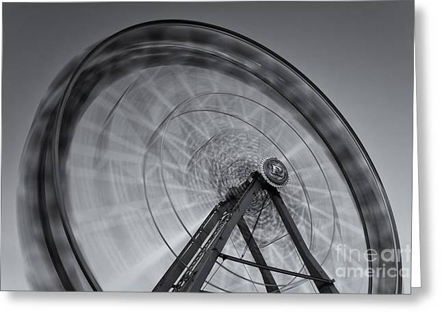 Ferris Wheel Viii Greeting Card