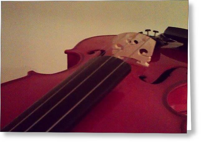 #fiddle #trad #violin #music #instagood Greeting Card