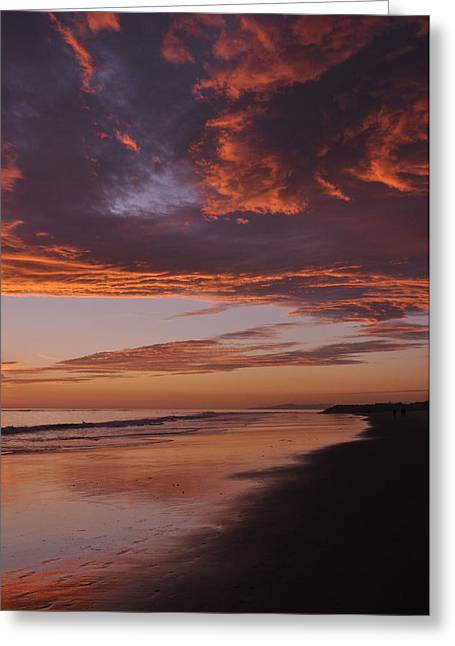 Fiery Skies Greeting Card