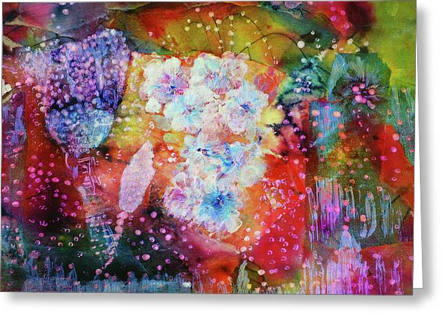 Fiesta Painting  Greeting Card by Don Wright