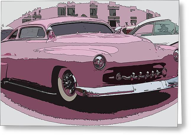 Fiftys Merc Greeting Card by Steve McKinzie