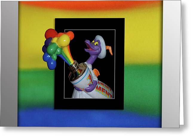 Figments Rainbow Of Colors Greeting Card by Thomas Woolworth