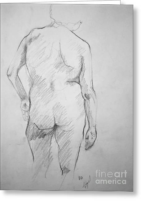 Figure Study Greeting Card by Rory Sagner