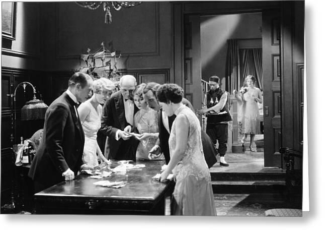 Film Still: Fifth Avenue, 1926 Greeting Card by Granger
