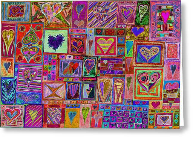 Find U'r Love Found V11 Greeting Card by Kenneth James