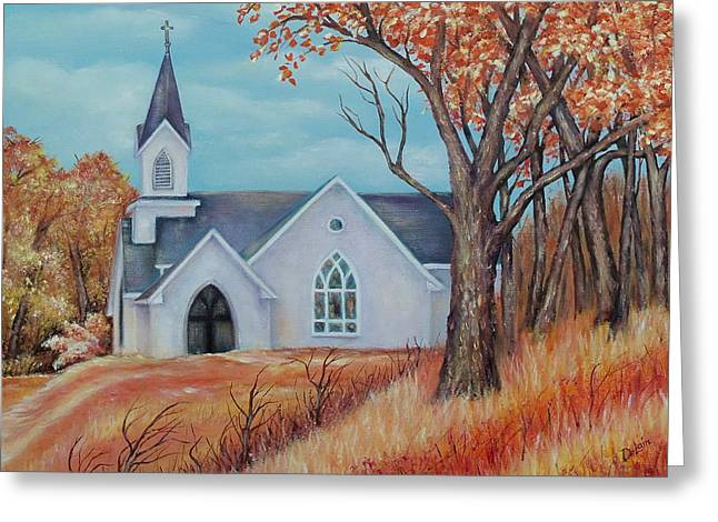 Finding Comfort Greeting Card by Susan DeLain