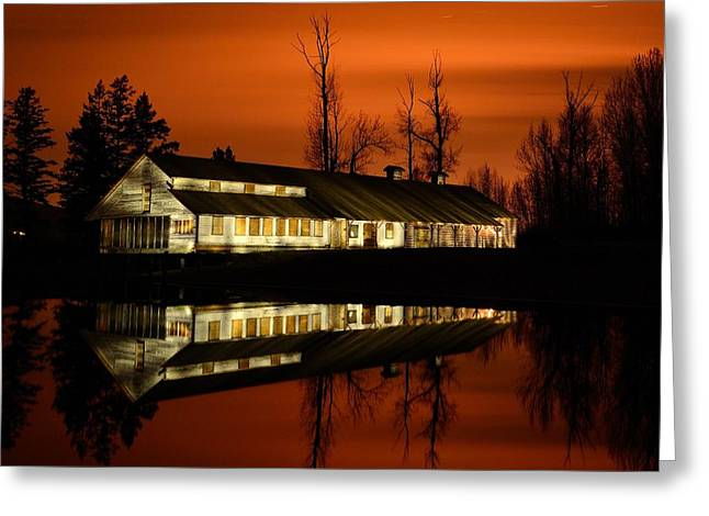 Fintry Packing House Greeting Card by Phil Dionne