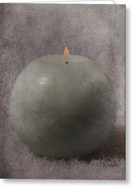 Fire Ball Greeting Card