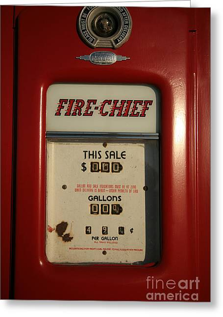 Fire-chief Red Greeting Card by Timothy Johnson