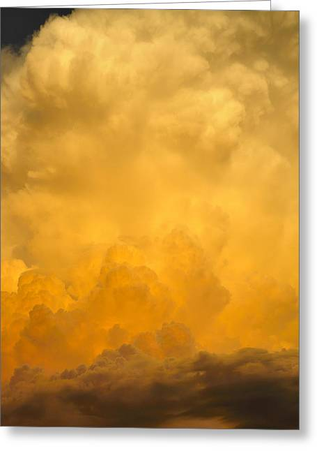 Fire In The Sky Fsp Greeting Card