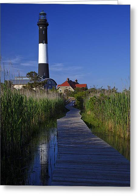 Fire Island Reflection Greeting Card