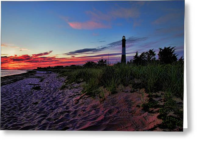 Fire Island Sunrise Greeting Card