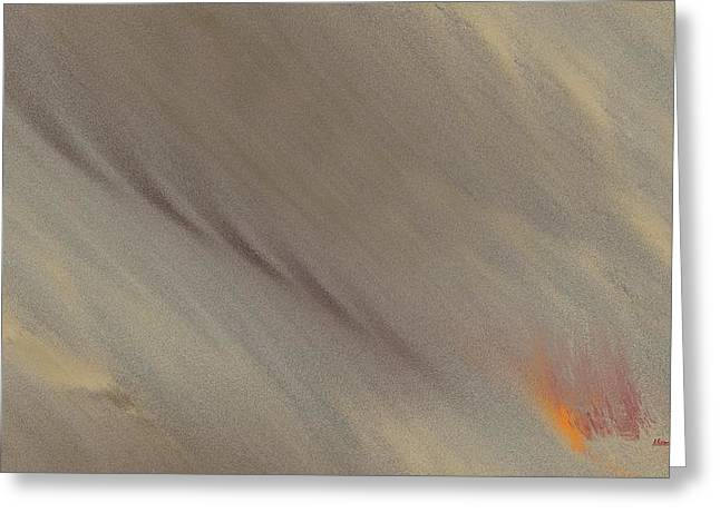 Fire-under Greeting Card by Ines Garay-Colomba