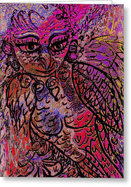 Firebird Greeting Card