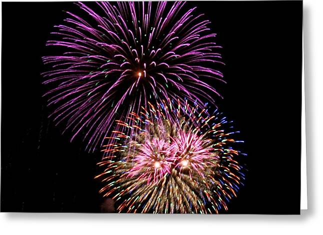 Firework Eyes Greeting Card by Chris Anderson
