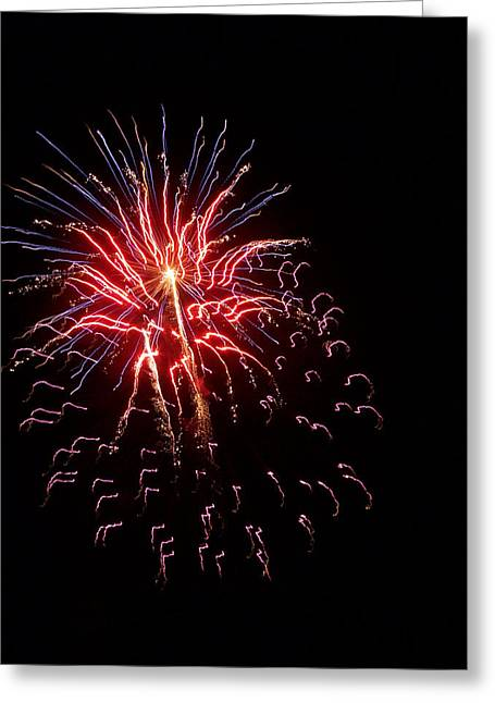 Fireworks 2 Greeting Card by Tanya Moody