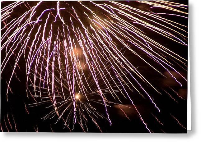 Fireworks Fun 13 Greeting Card by Marilyn Hunt