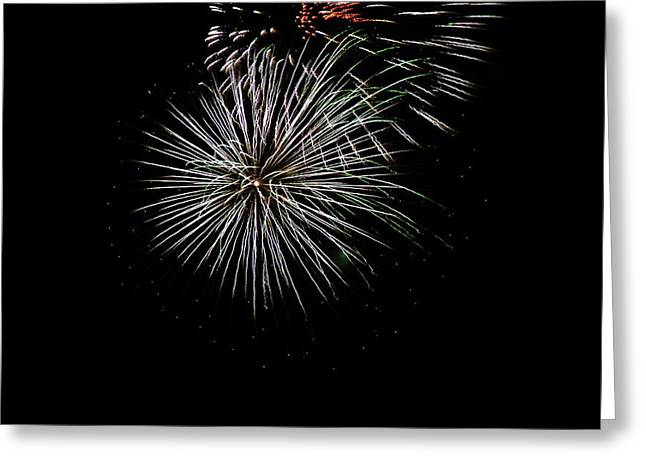 Fireworks Fun 3 Greeting Card by Marilyn Hunt