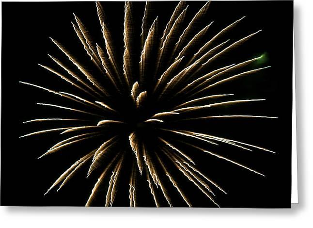 Fireworks Fun 4 Greeting Card by Marilyn Hunt