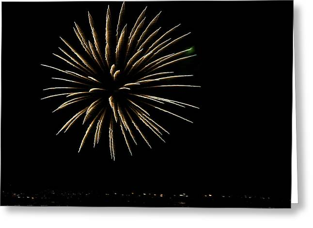 Fireworks Fun 5 Greeting Card by Marilyn Hunt