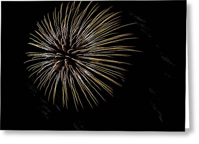 Fireworks Fun 7 Greeting Card by Marilyn Hunt