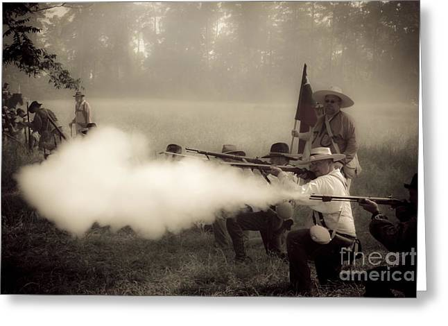 Firing On Command Greeting Card