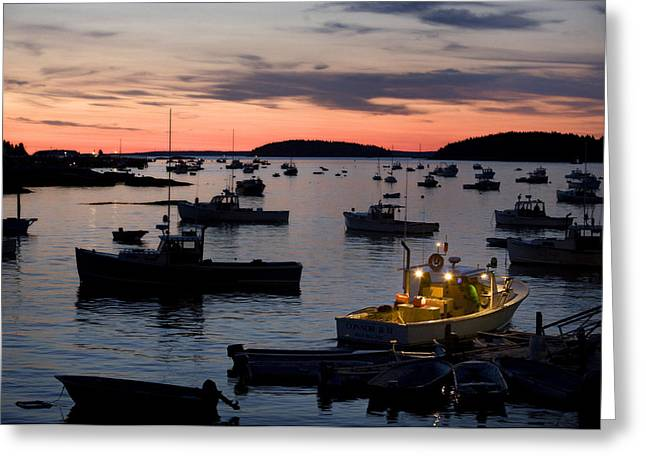 First Light Greeting Card by Don Powers
