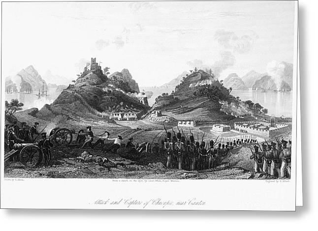 First Opium War, 1841 Greeting Card by Granger