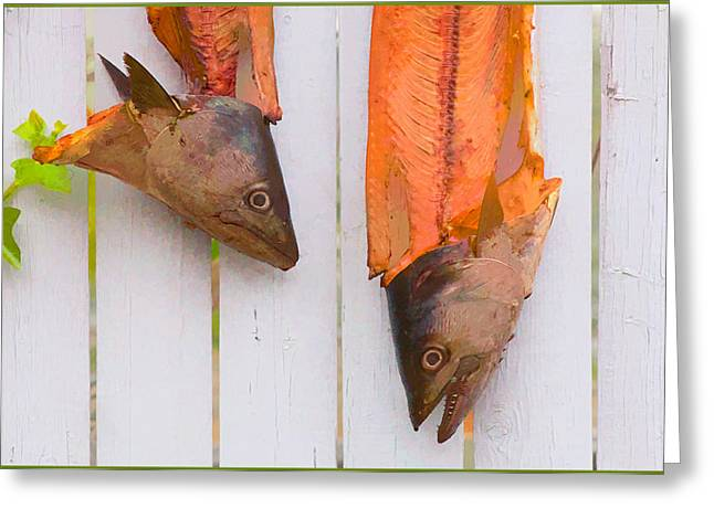 Fish Heads Greeting Card