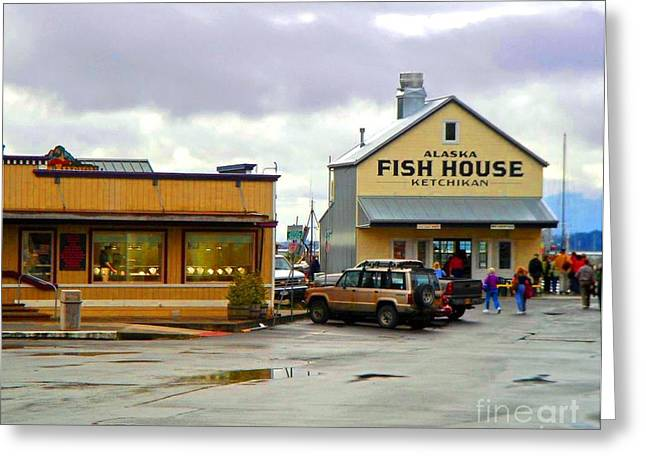 Fish House Greeting Card