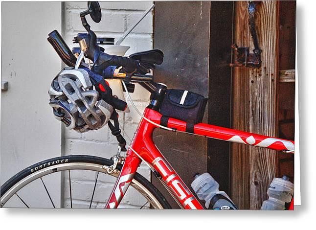 Fisher Bike Greeting Card