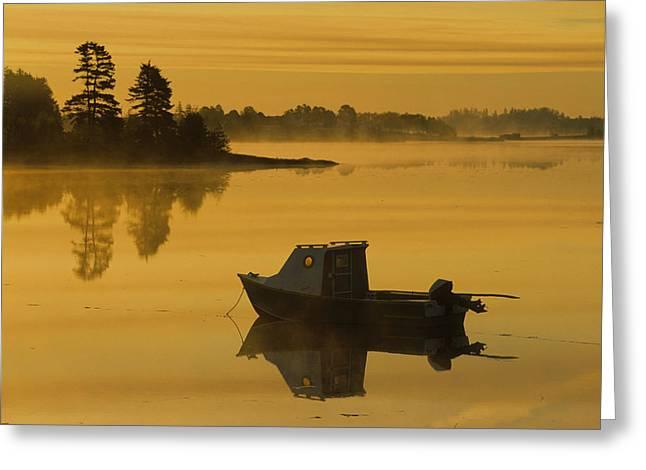 Fishing Boat, Mayfield, Prince Edward Greeting Card