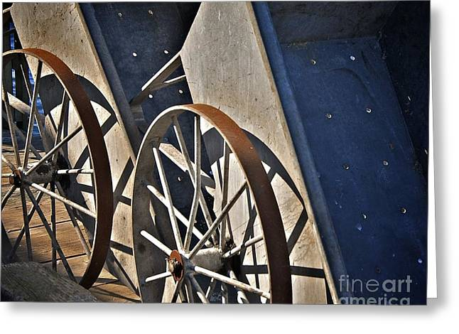 Greeting Card featuring the photograph Fishing Cart II by Sherry Davis