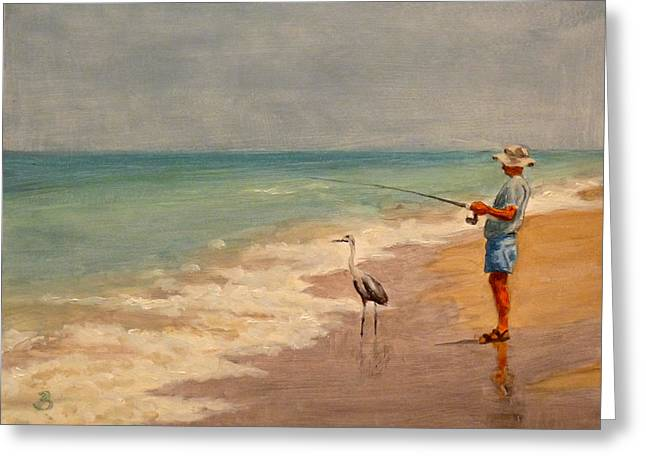 Fishing Friends Greeting Card