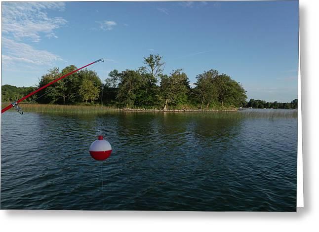Fishing Island Greeting Card by Brian  Maloney