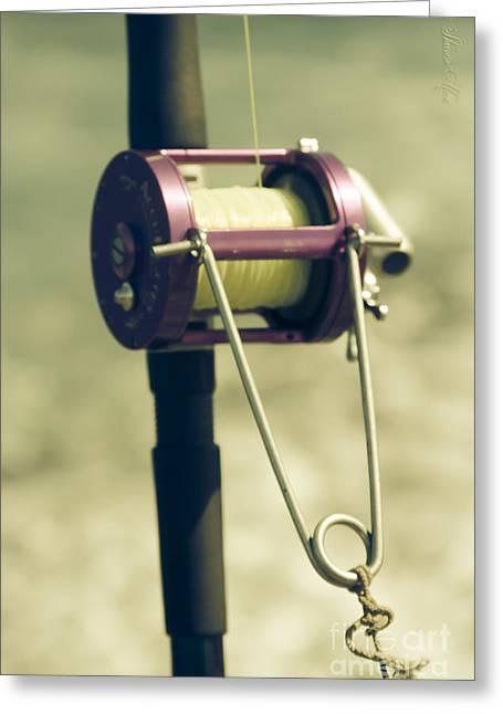fishing Kaupo Greeting Card by Sharon Mau