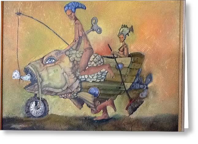 Fishing Smiles Greeting Card