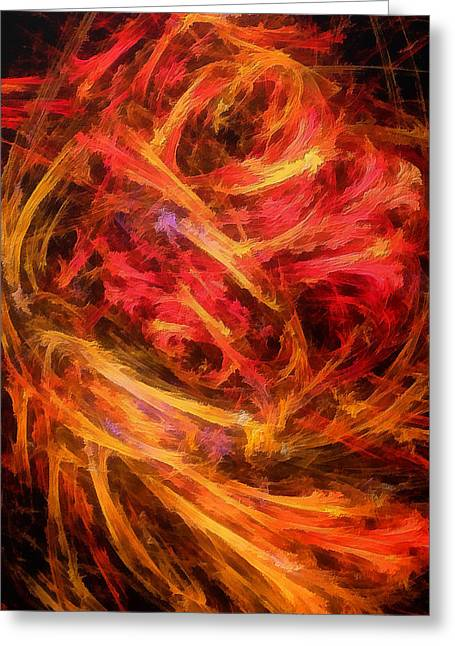 Flamboyance Greeting Card by RochVanh