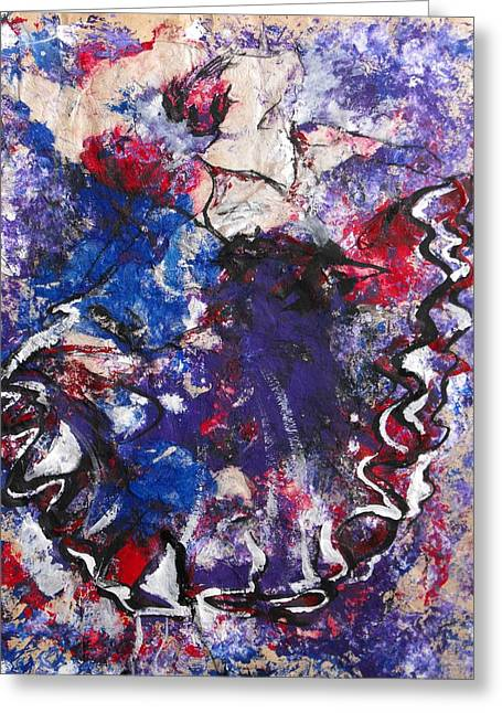 Flamenco Dancer 6 Greeting Card