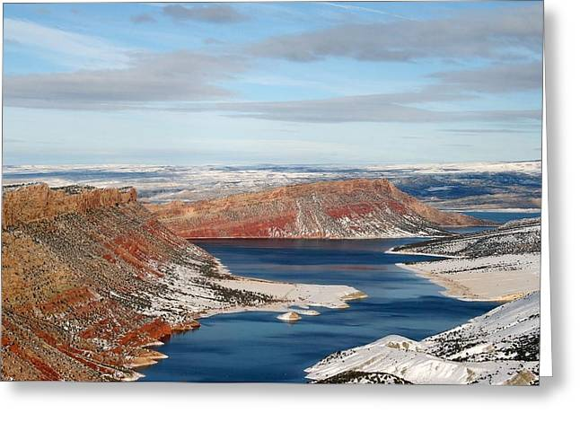 Flaming Gorge Greeting Card