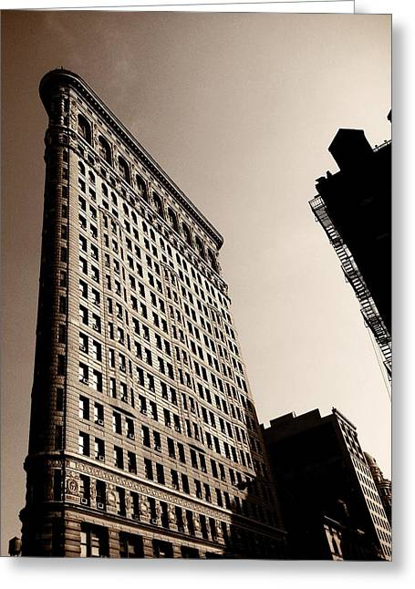 Flatiron Building - New York City Greeting Card by Vivienne Gucwa