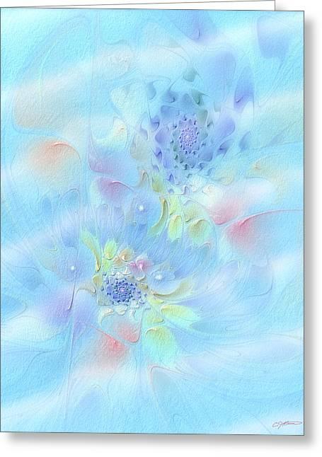 Fleur De Fantasm Greeting Card