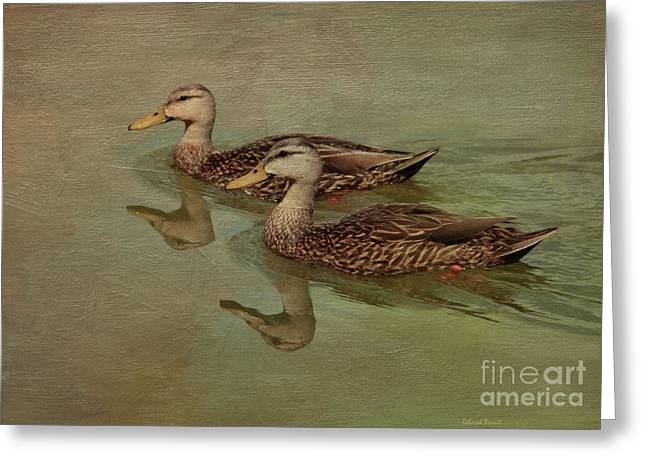 Floating On By Greeting Card