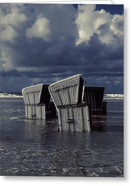Flood Greeting Card by Joana Kruse