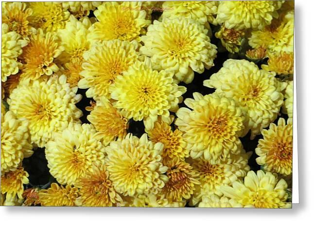Floral Carpet Greeting Card by Sonali Gangane