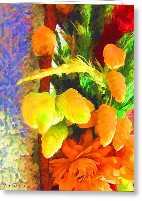 Floral Delights 2095 Greeting Card by Maciek Froncisz