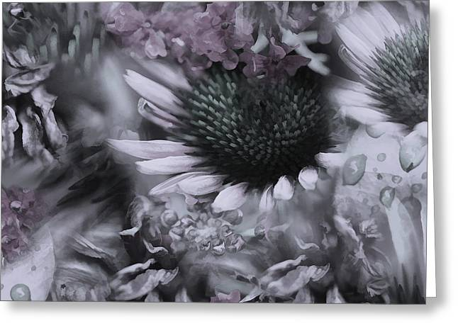 Floral Montage No.1 Greeting Card