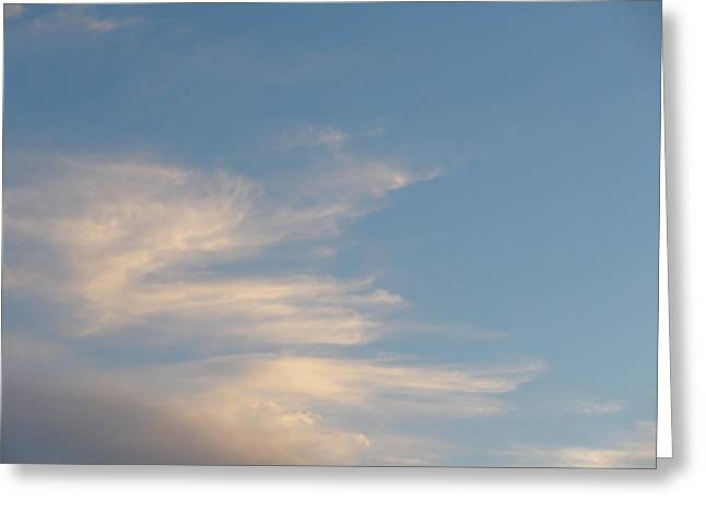 Florida Sky I Greeting Card by Suzanne Fenster
