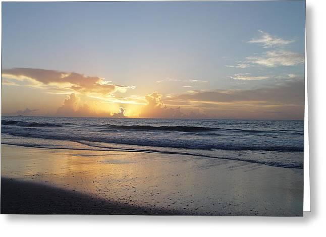 Florida Sunrise  Greeting Card by Elizabeth Sullivan